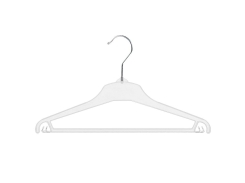 Universal clothes hanger 01-111 clear