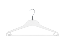 Universal clothes hanger 01-114 clear