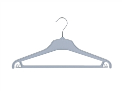 Universal clothes hanger 01-114 grey