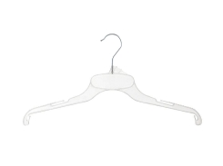 Tops and dress hanger 01-544 clear
