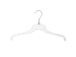 Tops and dress hanger 01-539 clear